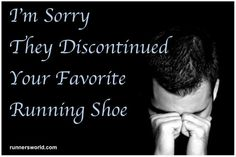 """""""I'm sorry they discontinued your favorite running shoe."""" Sympathy cards for National Running Day Running Day, Running Humor, Running Quotes, Marathon Running, Running Motivation, Running Workouts, Running Tips, Running Posters, Trail Running"""