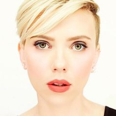cool Top 25 Strikingly Cool Scarlett Johansson Short Hair -- Star Mind Blowing Hairstyles