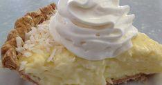 1 9-inch baked pie crust  2/3 cup sugar  1/3 cup cornstarch  2 tablespoons all-purpose flour  1/4 teaspoon salt  3 e...