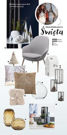 świąteczne inspiracje wprost z Domoteki! Ottoman, Chair, Furniture, Home Decor, Decoration Home, Room Decor, Home Furnishings, Chairs, Arredamento
