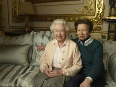 Photographed by Annie Leibovitz to commemorate Her Majesty's 90th.