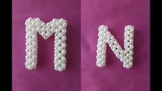 Alphabet Beads, Hair Bow Tutorial, Dishes Recipes, 3d Origami, Beading Patterns, Hair Bows, Projects To Try, Crafts, Handmade