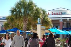 Food Court at Tanger Outlets Myrtle Beach Myrtle Beach Shopping, Shop Till You Drop, Food Court, Outlets, Street View, Catering, Wall Outlet