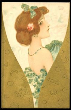 Jewellery - Raphael Kirchner 1903
