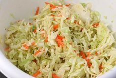 Jamaican Coleslaw - made this with Jerk Chicken and rice with beans. Very good!