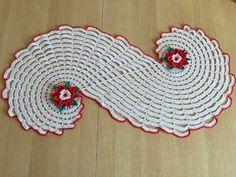 Tuto chemin de table Spirale ou tapis au crochet - YouTube