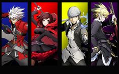 Blazblue Cross Tag battle RWBY version by Redchampiontrainer01