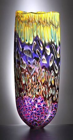 The Maestro in the world of glass art. An inspiration for artists and collectors alike. Discover the wonders of glass art at Lino's studio in Seattle or Murano. Blown Glass Art, Art Of Glass, Glass Vase, Alcohol Ink Art, Panel Art, Glass Ceramic, Colored Glass, Fused Glass, Abstract