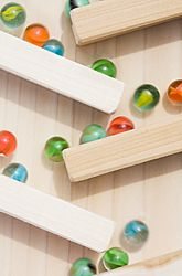 Make a Marble Obstacle Course
