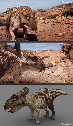 Dinosaur Revolution by Vlad Konstantinov, via Behance