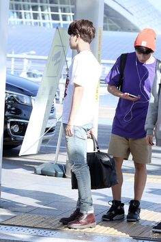 150910 BTS @ Incheon Airport otw to Jakarta-Indonesia for SH Power Music Event