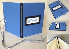 Livro azul de boas-vindas