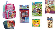 Girls Paw Patrol Backpack with Attached insulated Lunch Bag PLUS 3 Sectioned Lunch Kit & More   #PawPatrol