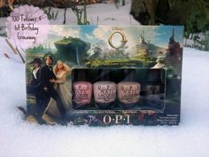 WIN AN OPI OZ THE GREAT & POWERFUL   NAIL VARNISH SET ON MY BLOG...  Follow the link below  http://ashlylondon.blogspot.co.uk/2013/03/opi-oz-great-powerful-100-follower-1st.html