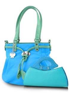 Papillons Combo sac à main (Bleu) (BNS CB025): Amazon.in: Chaussures et sac à main