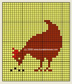 Cross stitch Easter patterns / Wielkanocne wzory haftu krzyżykowego