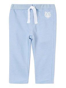 KENZO Logo cotton jogging bottoms 6-36 months