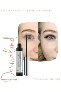 DermalMD's laboratories have mastered the vital proprietary combinations of ingredients needed to produce the whole extract in eyelash technology. The serum extract helps short, weak and scant eyelashes achieve excellent results within days. How To Grow Eyelashes, Longer Eyelashes, Eyelash Growth Serum, Natural Eyelashes, Rosacea, Fragrance, Lipstick, Technology, Beauty
