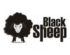 Sheep Logo, Wooly Jumper, Black Sheep, Animals, Image, Animais, Animales, Animaux, Animal