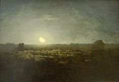 Millet, love the lighting of his paintings