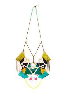 Neon Statement Necklace Geometric  http://www.etsy.com/listing/109951207/neon-statement-necklace-geometric?ref=pr_faveitems_uid=11264297