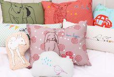 Beautiful Mimi Lou cushions designed in France!
