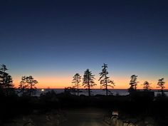 Right Now! Epic Sunset #Ucluelet