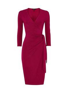 Colwyn Wrap Dress in Purple | BAUKJEN UK