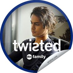 ORIGINALS BY ITALIA's #ABCFamily #Twisted: Grief is a Five Letter Word Sticker | GetGlue