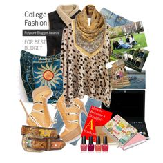 Fun boho chic College style