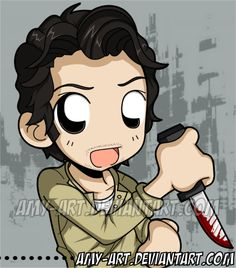 Walking Dead - Glenn by amy-art.deviantart.com on @deviantART
