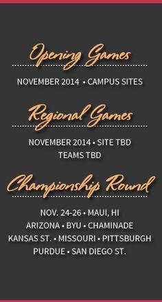 See you in Maui, November 2014 EA Sports Maui Invitational Maui Jim, Ea Sports