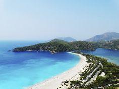 Oludeniz Beach aka The Blue Lagoon, Fethiye, Turkey | 18 Surreal Beaches You Need To See Before You Die