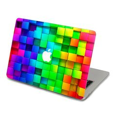 rainbow macbook pro decal Mac Decal  Laptop decal von youyoudecal, $18.55