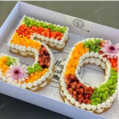 50 years old! Do you like fruits? This number cakes looks so fresh! - Tag a frien. : 50 years old! Do you like fruits? This number cakes looks so fresh! - Tag a friend who would love this! - S Cake iDeas ? Number Birthday Cakes, Number Cakes, 50th Birthday, Fruit Birthday Cake, Birthday Numbers, Friend Birthday, Birthday Ideas, Red Wine Gravy, 50th Cake