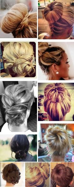 Ballerina Buns for Teen Hairstyles #girlshairstyles #BallerinaBuns