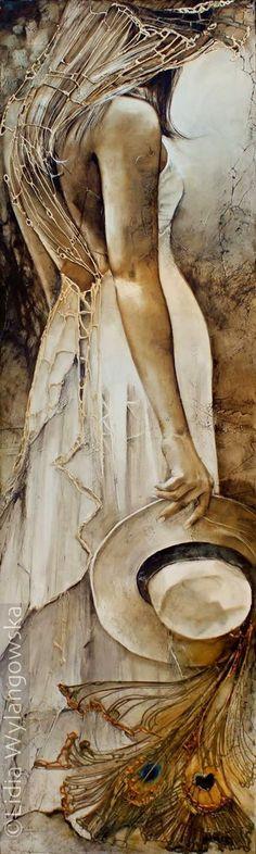Lidia Wylangowska ~ Figurative painter | Tutt'Art@ | Pittura * Scultura * Poesia * Musica |