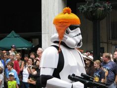 Stormtrooper with Jayne hat - Star Wars - Firefly