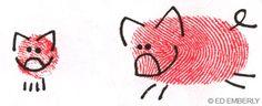 Thumbprint Pig