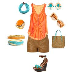 """Indian Summer"" Would LOVE to wear this in Vegas or Belmar!"
