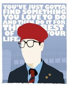 Rushmore redesigned movie poster