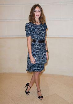 Ella Purnell au défilé Chanel Métiers d'Art