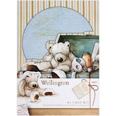 Dinglefoot's Scrapbooking - Wellington A4 Card Kit, $5.99 (http://www.dinglefoot.com/wellington-a4-card-kit/)