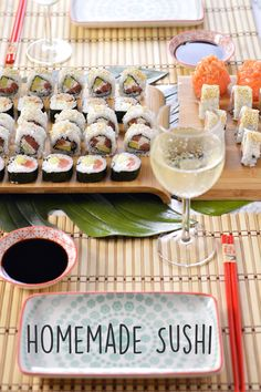 Sprinkles Dress: Homemade sushi - uramaki e futomaki