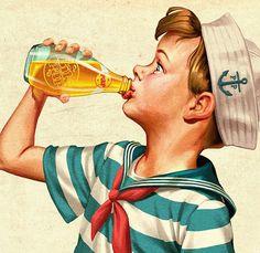 Vintage Illustrations by Oscar Ramos | Inspiration Grid | Design Inspiration