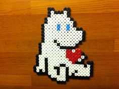 Bilderesultat for moomin knitting pattern Hama Beads Design, Hama Beads Patterns, Beading Patterns, Knitting Yarn, Knitting Patterns, Charts And Graphs, Pearler Beads, Art Club, Bead Art