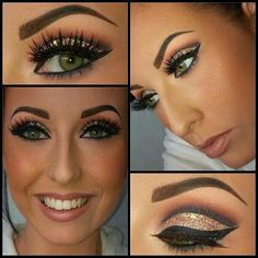 Gorgeous for wanna-be green hazel eyes like mine!