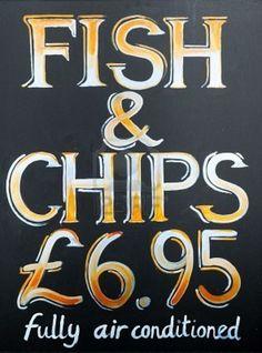 Traditional british pub sign