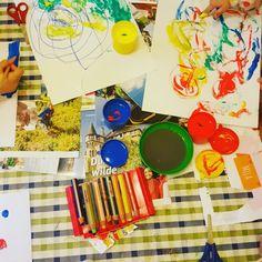 Malen mit Kindern, Familienblog, Stabilo Stifte,