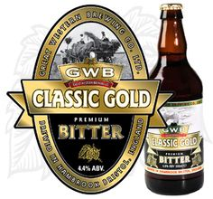 Great Western Brewery - Classic Gold - 4.4%
